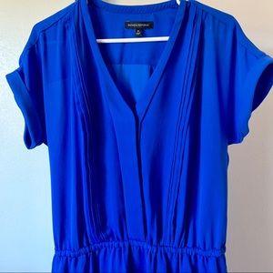 Blue banana republic dress